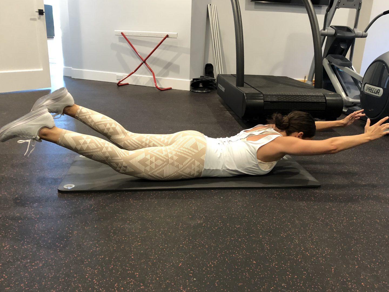 post partum workout