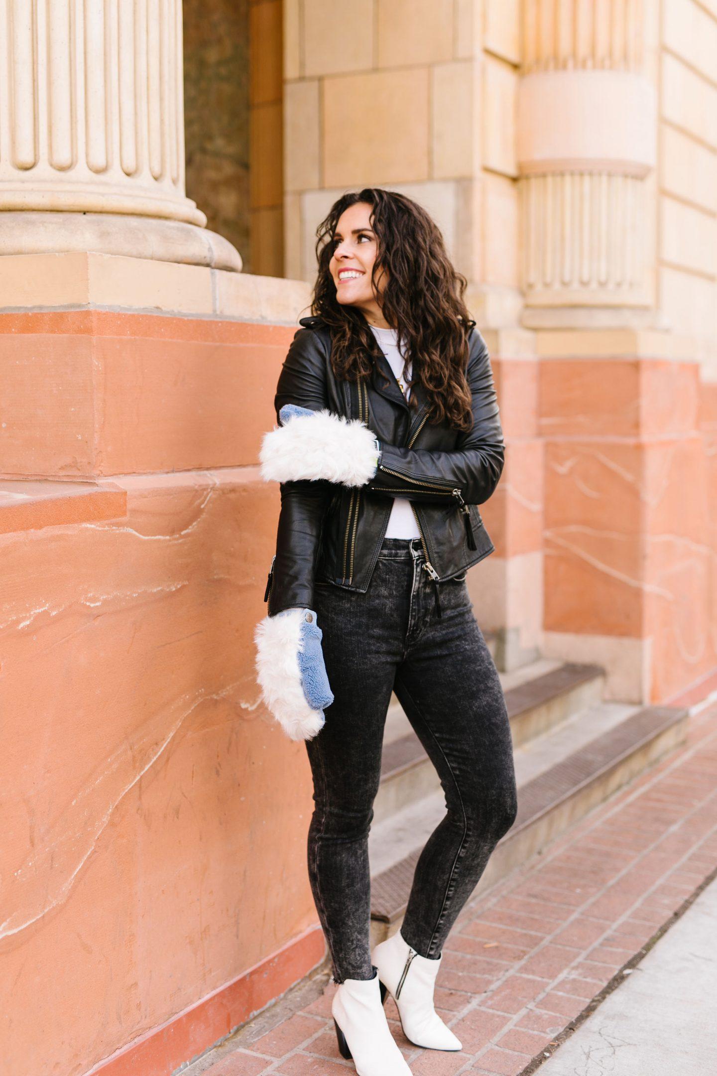 winter accessory chic mittens